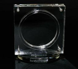 """1.75"""" Challenge Coin Display Holder Case with Stand, Magneti"""