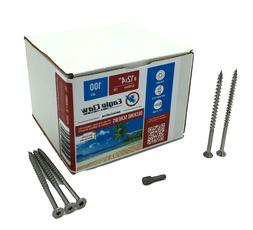 Eagle Claw Fasteners 12 x 4 Inch 305 Grade Stainless Steel D