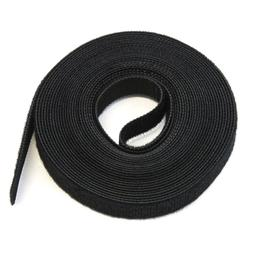 """15FT REUSABLE .5""""  Roll Hook & Loop Cable Fastening Tape Cor"""