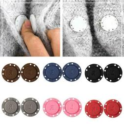 1Pairs Invisible Magnetic Round Snap Fasteners Button Purse