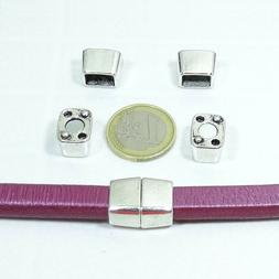 2 Fastenings Magnetic 0 23/32X0 9/16in T443 For Leather Lico