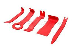 5 pc Fasteners and Moldings Remover No Scratch Tool Removing