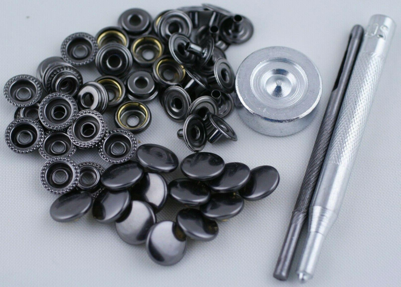 15 sets with tool heavy duty poppers