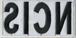 Ncis Patch Logo With Touch Fastener Special Agent Hook And L