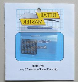 QUICK TURN FASTENERS 1:24 1:25 DETAIL MASTER CAR MODEL ACCES