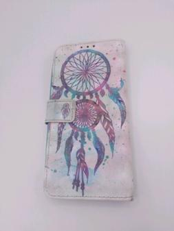 Samsung s8 Dreamcatcher Phone Case and Wallet Magnetic Faste
