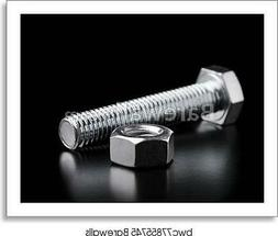 Steel Fasteners Of Their Art Print / Canvas Print. Poster, W