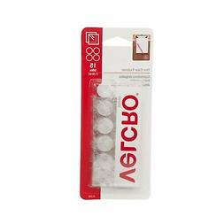 """Velcro Thin Clear 5/8"""" Coins 15 Count Sticky Fasteners Adhes"""
